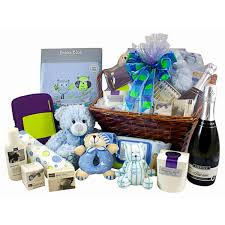canberra gift basket no 76 for the new family baby gifts blue