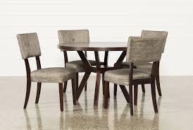 macie  piece round dining set  living spaces