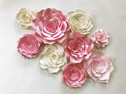 paper wall flower