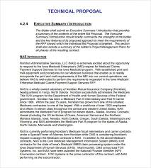 Technical Proposal Templates 13 Technical Proposal Template Fax Coversheet