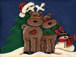 42+] Christmas Reindeer Wallpaper on ...