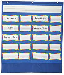 Classroom Helpers Chart Carson Dellosa Classroom Helpers Pocket Chart 158037