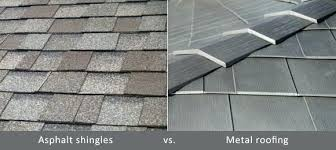 architectural shingles vs 3 tab. Delighful Architectural 3 Tab Shingles Vs Architectural Asphalt Metal Shingle  Comparing The Cost Hometown Inside Architectural Shingles Vs Tab