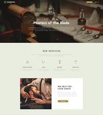 Barber Shop Website Barber Shop Website Template