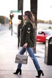 sew patches onto your military style jacket to get this classic edgy look rocked by jill