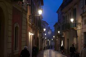 Street Lights In Villages Its Not Just Big Cities That Are Going Led Italys