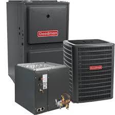 goodman furnace. goodman 5 ton 16 seer 120,000 btu 96% afue a/c \u0026 gas furnace split system gsx160601, gmec961205dn, capf4961d6, txv-60