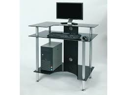 corner glass computer desk best home office furniture