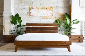 modern bedroom furniture nj. modern bed, platform walnut midcentury bedroom furniture nj n
