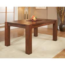 round extending dining table dark wood