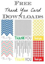 Free Downloads Thank You Cards Free Blank Thank You Cards Under Fontanacountryinn Com