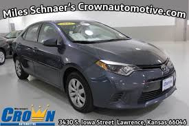 Used One-Owner 2015 Toyota Corolla LE - Lawrence KS - Crown Toyota ...