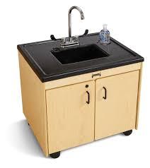 Preschool Kitchen Furniture Portable Sinks For Preschool Daycare School Hot Cold Sinks