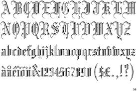 black letter font livraison logo gothic blackletter typophile