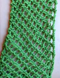 Simple Scarf Knitting Patterns Custom Fishnet Scarf Pattern Lima Bean Lover