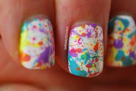 Sarah Lou Nails: Splatter Paint Nails!