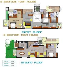 astonishing row house plans india gallery exterior ideas 3d