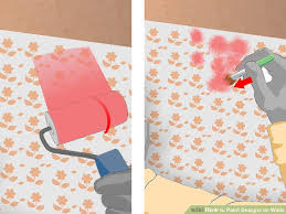painting designs on walls5 Ways to Paint Designs on Walls  wikiHow