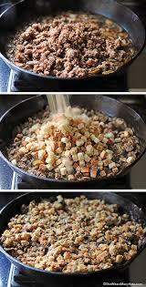 sausage and mushroom stuffing recipe shewearsmanyhats