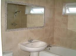 Bathroom Mirror Tile Frame Framing Bathroom Mirror With Tiles