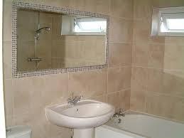 Bathroom Mirror Tile Frame Framing Bathroom Mirror With Tiles