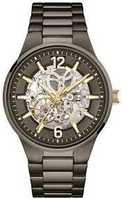 <b>Caravelle New York</b> by Bulova Men's Stainless Steel Automatic ...
