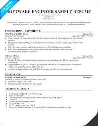 Best Resume Software Best Resume format Experienced software Engineers Sample Resume 28
