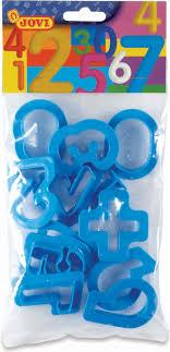 <b>Набор для лепки</b> Jovi Цифры, 7N, цвет в ассортименте — купить ...