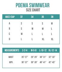Size Charts Bikini Sizing Information And Helpful Guide