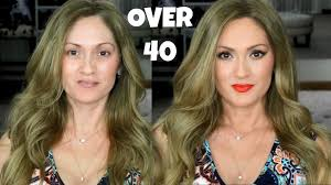 over 40 makeup tutorial desi x katy carli bybel