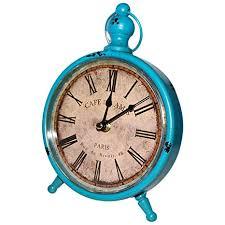 Classic <b>Retro</b> Desk Clock (9X6 <b>Inches</b>) - <b>vintage</b> desk clock ...