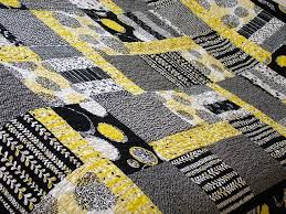 28 best gray and yellow quilts images on Pinterest | Appliques ... & black, gray and yellow quilt Adamdwight.com