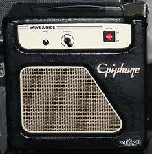 epiphone valve junior jr bo guitar lifier 8 eminence speaker 5wt