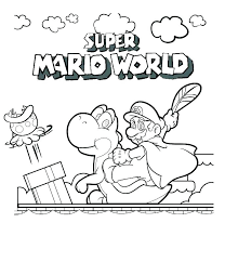 Free Printable Super Mario Coloring Pages Pictures To Color Online