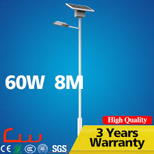 Integrated Solar Street Light Price List For 6 Wattage Working 3 Solar Street Lights Price List