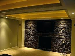 fake stone for interior walls basement i finished faux wall ideas veneer siding make panels fake stone wall