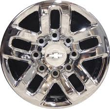 Chevy Silverado Lug Pattern Beauteous Chevrolet Silverado 48 Wheels Rims Wheel Rim Stock OEM Replacement