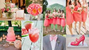 Stylish Theme Ideas For Weddings Top 5 Color Theme For Spring Wedding