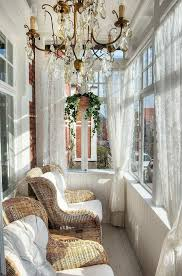 Modest sunroom decorating ideas Interior Front Porch Chandelier Homedit 10 Places To Hang Chandelier In Your Home