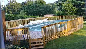 wood patio with pool. Deck Above Ground Pool Patio Ideas Wood With