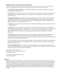 Research Paper Outline Conclusion Example How To Write An Outline