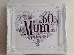 presents for mums 60th birthday mums birthday present for mum 60th birthday milestone birthday template