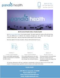Birth Control Patch Online Pandia Health By Pandia Health