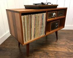 record player console. Interesting Player Solid Mahogany Record Player Console Mid Century Modern Turntable And  Stereo Cabinet With Album Storage Throughout Record Player Console G