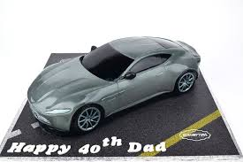 Db10 Aston Martin Car Cake 3d Cake Store