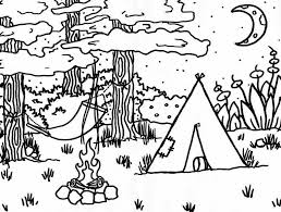 Small Picture Useful photograph selection of campfire coloring page relevant