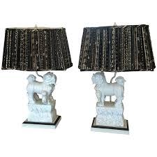 foo dog lamp pair of chine foo dog lamps for barbara cosgrove mini foo dog