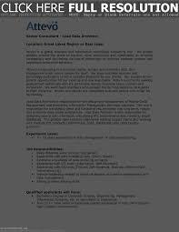 Enterprise Data Architect Resume Resume For Study
