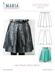 Pleated Skirt Pattern Custom 48 Paula Pleat Skirt Pattern MariaDenmark Sewing