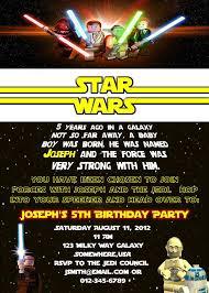 star wars birthday invite template star wars birthday invitations birthday party invitations